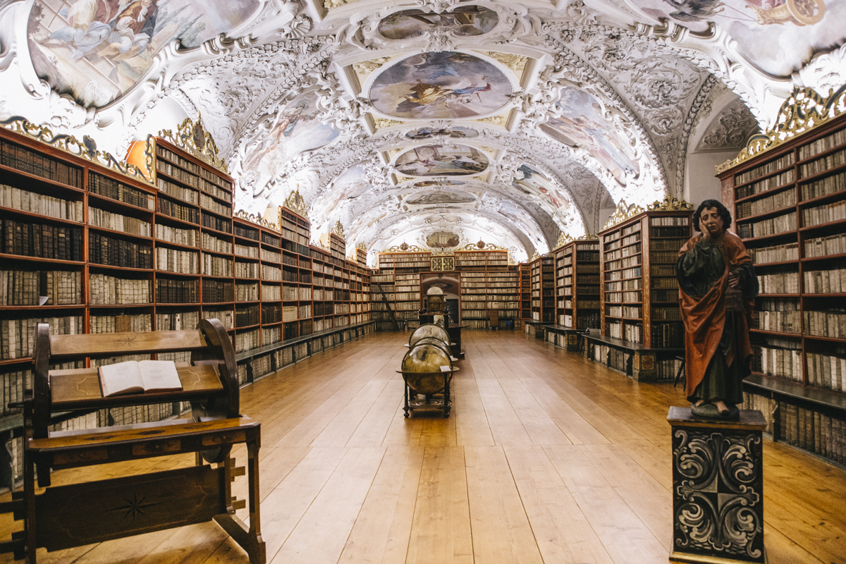 Bibliotheque monastère Strahov Prague