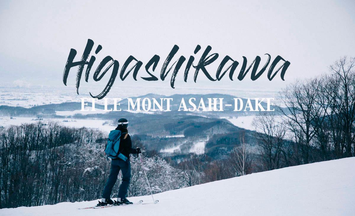 hokkaido higashikawa asahi-dake Japon hiver