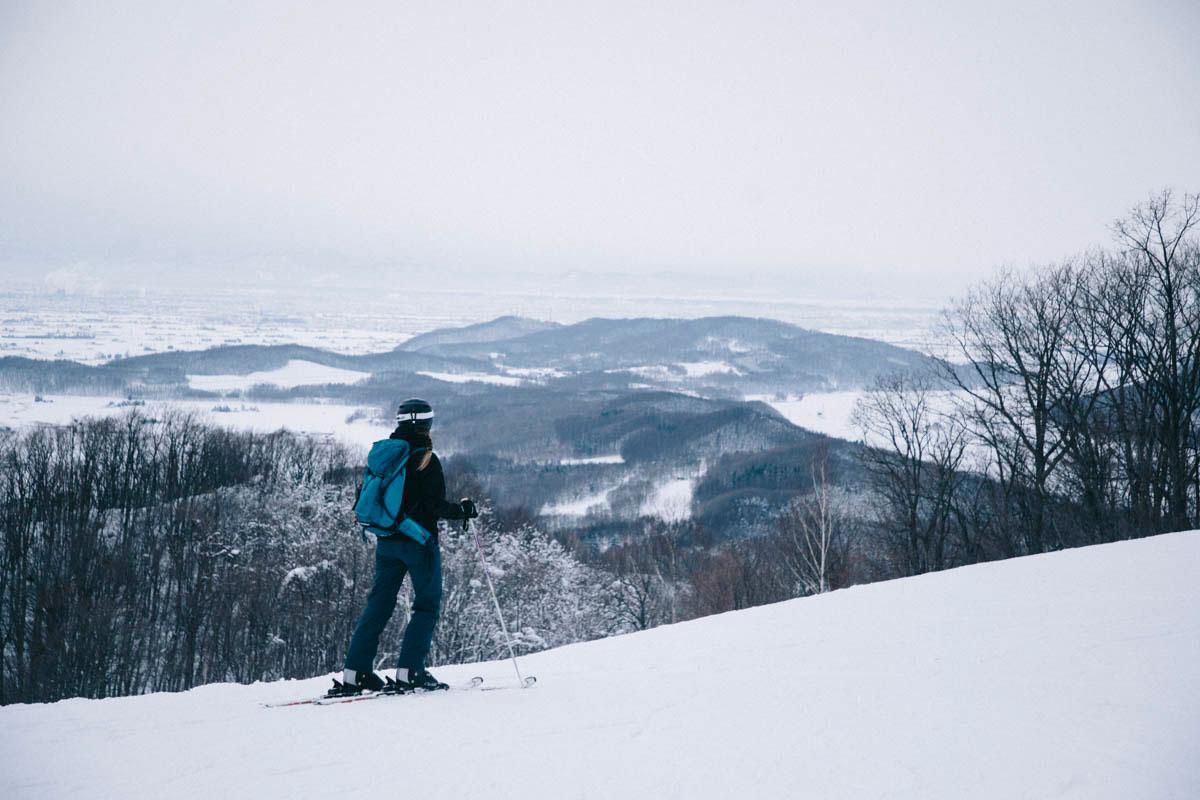 Ski village de Canmore à Higashikawa hokkaido japon hiver