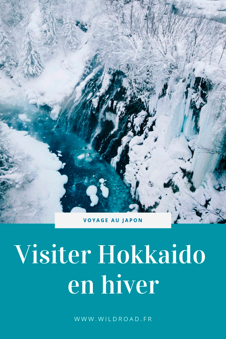 Hokkaido hiver japon visite higashikawa asahidake