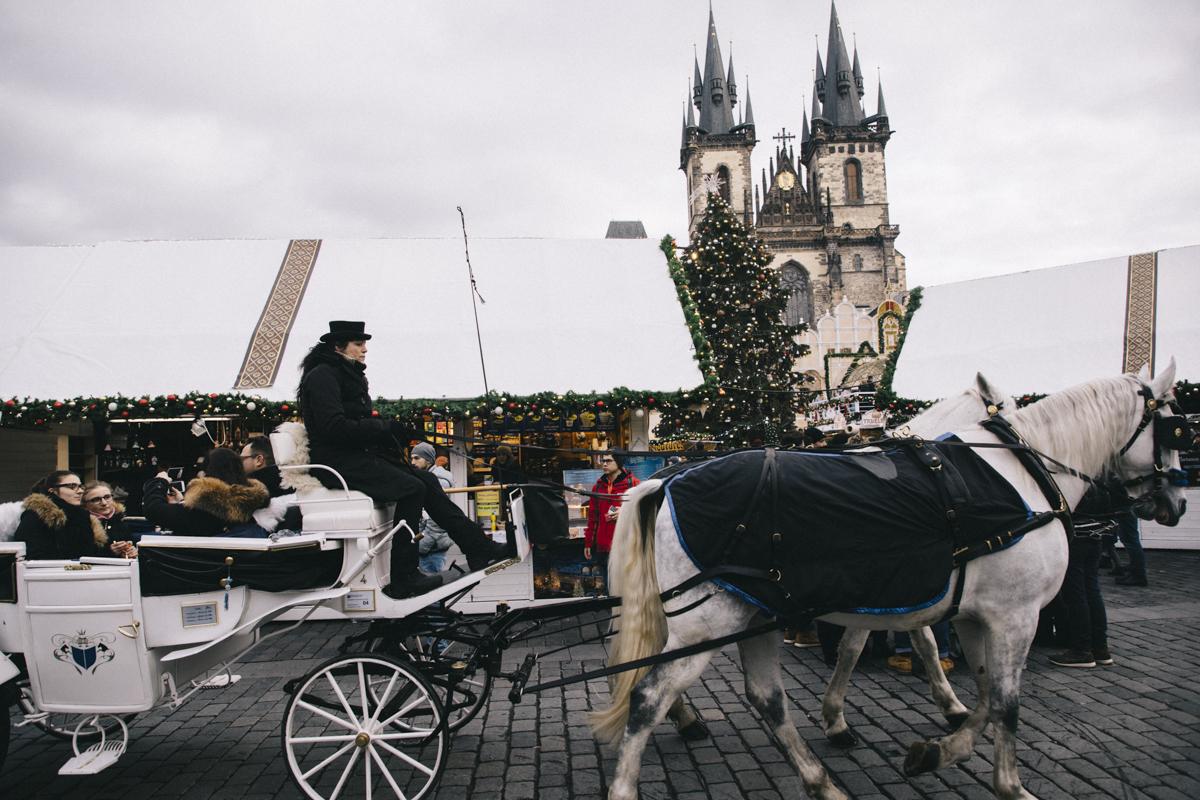 Marché de Noel Prague vieille ville