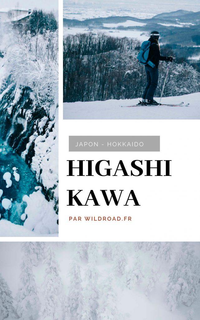 Higashikawa Asahi-dake japon hokkaido hiver
