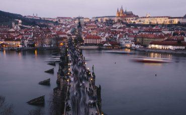 visiter Prague à noël