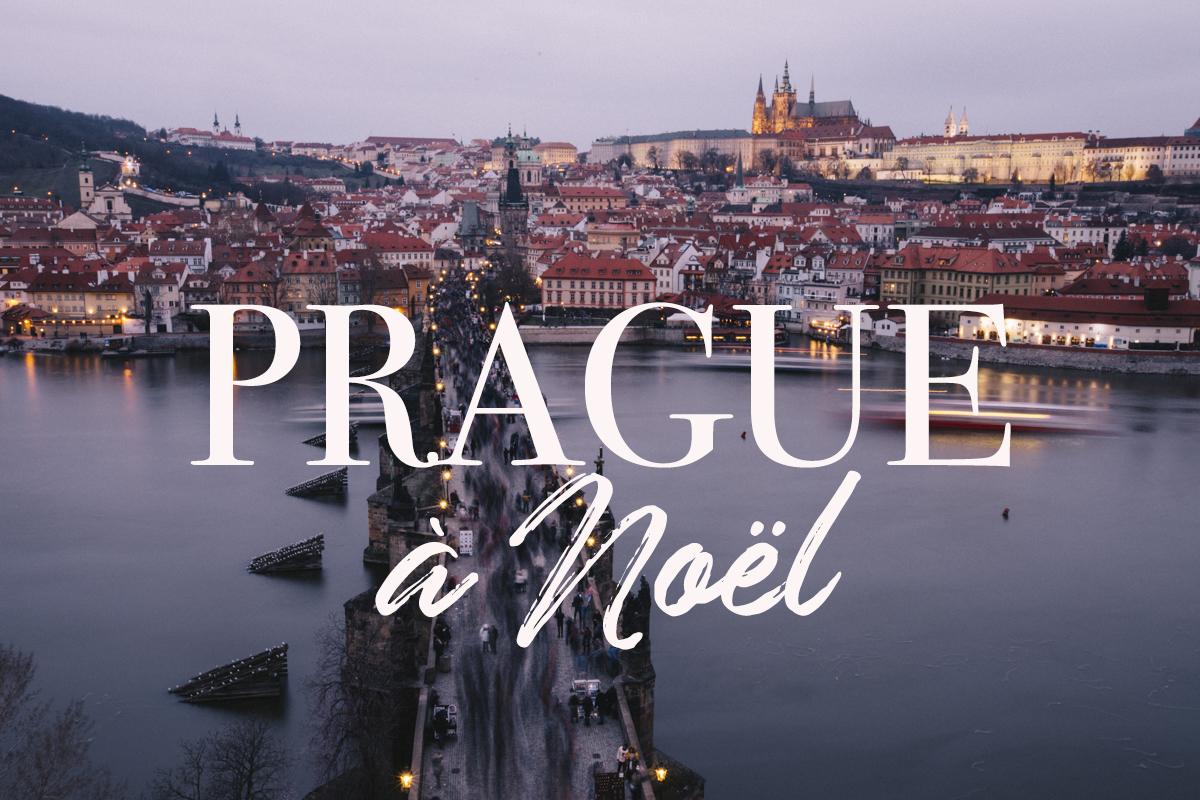 Prague à noël visite