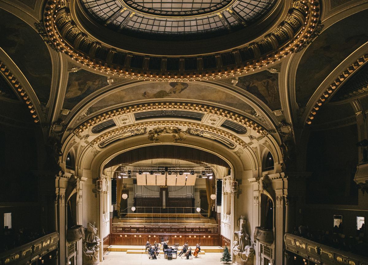 Concert de Noel Maison de la ville Prague