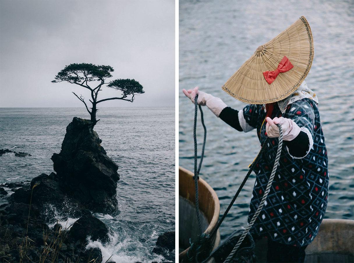 les bateaux traditionels taraibune sado island japon