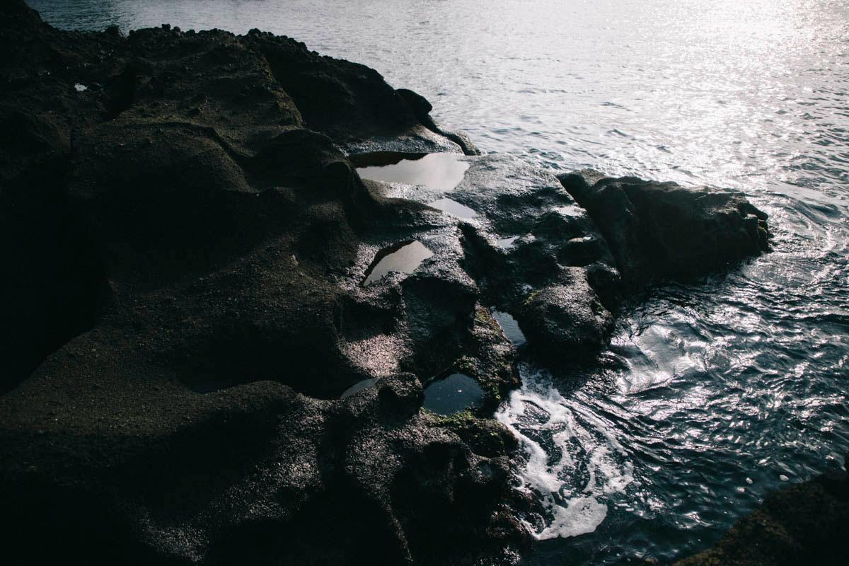 basaltes péninsule ogi geo park sado island