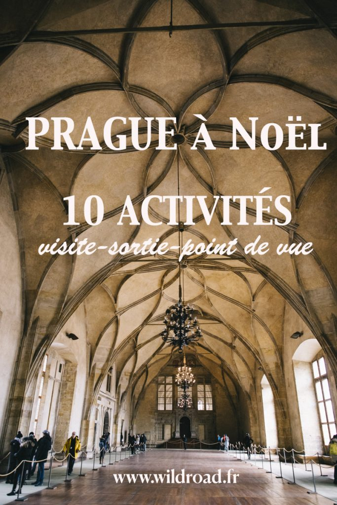 Prague à noël visiter activité