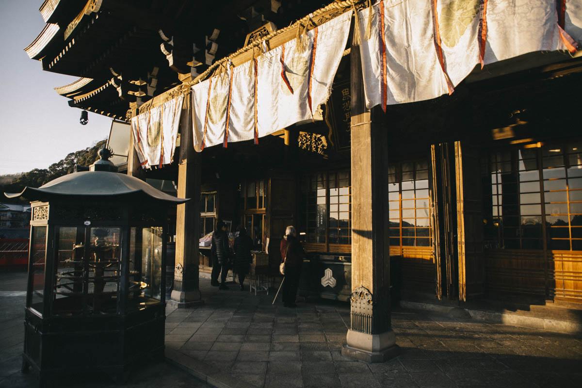 le temple principal dormir temple bouddhiste japon