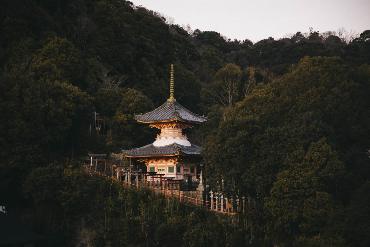 pagode temple bouddhiste nara prefecture japon dormir