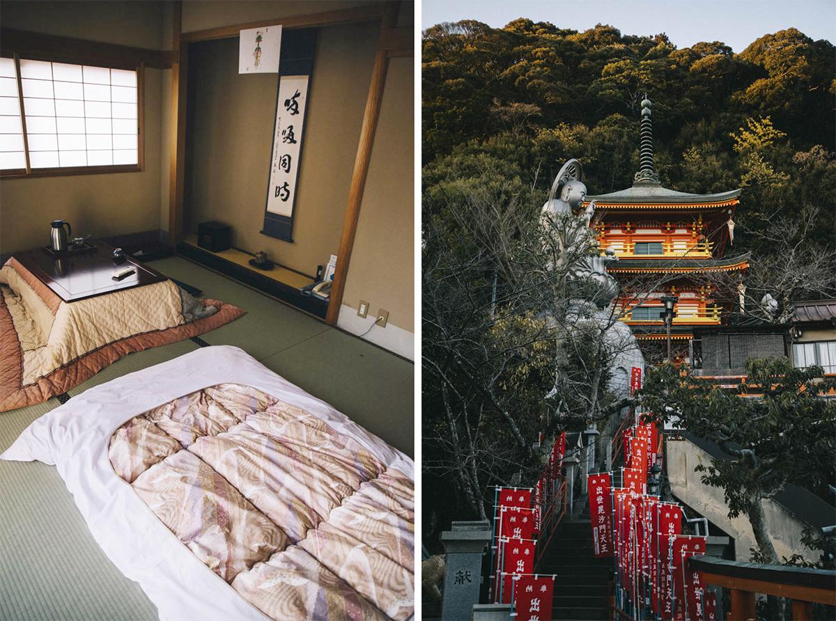 temple bouddhiste chambre nara japon