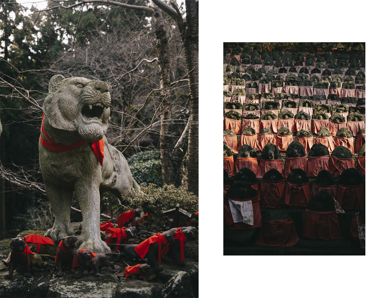 temple statue tigre enfant mort japon