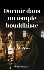 dormir dans un temple bouddhiste nara japon