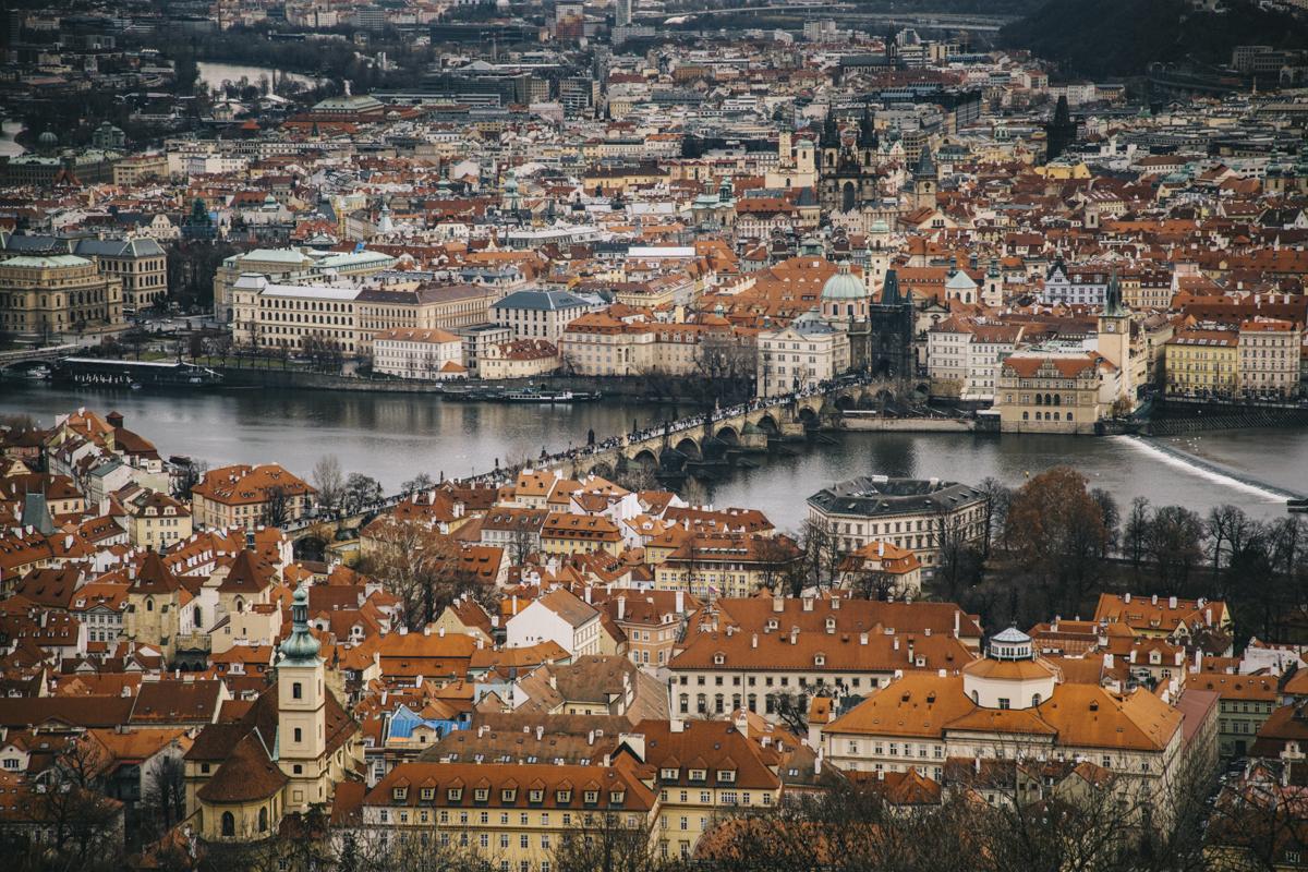Tour de Petrin Prague belvédère
