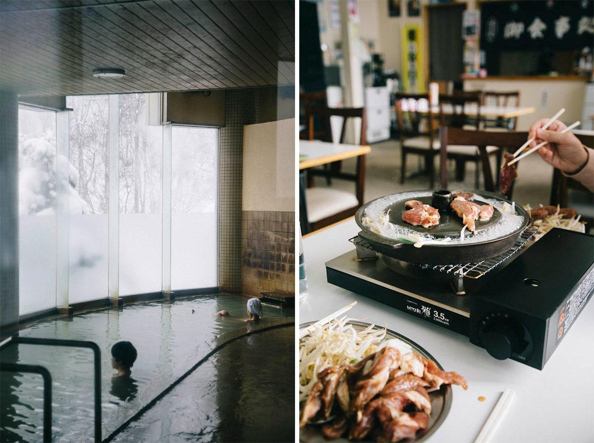 Toyotomi onsen wakkanai hokkaido japon