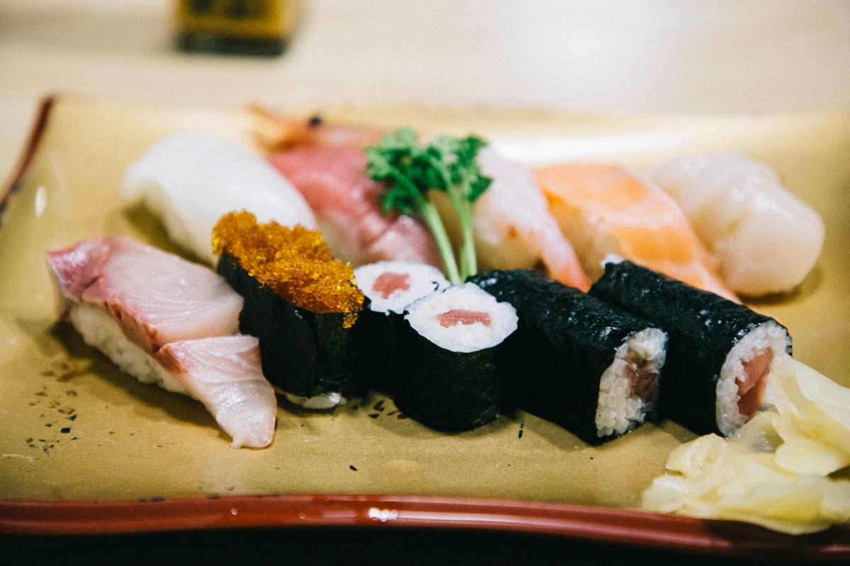 sushi wakkanai scalpe coquille saint jaque hokkaido
