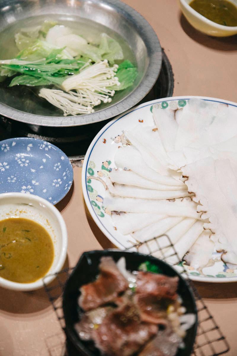 Tako-shabu wakkanai hokkaido poulpe specialité culinaire