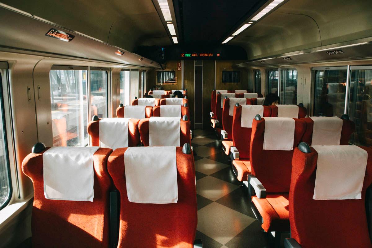 Wakkanai train deplacement transport japon hokkaido