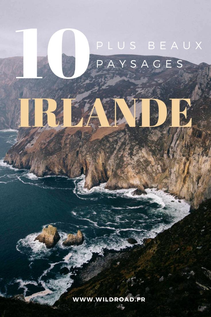 Irlande beaux paysage connemara galway kerry skellig michael
