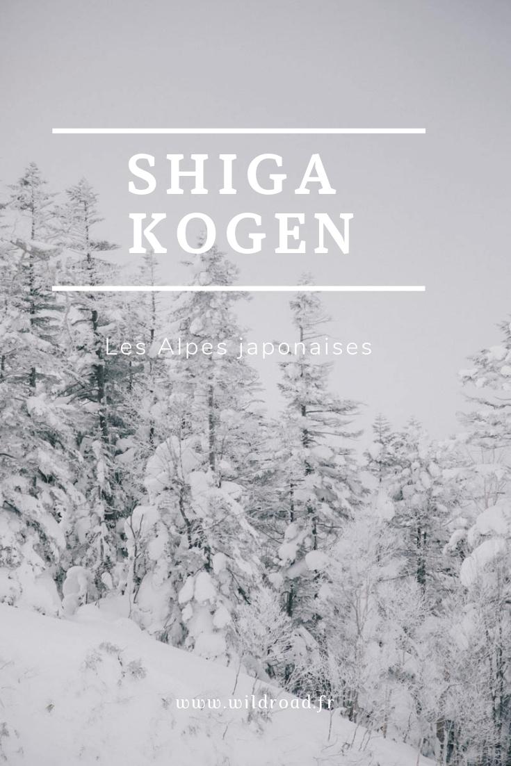 Shiga Kogen Ski Japon