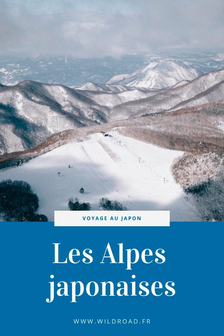 alpes japonaises japon Nagano Obuse Shiga Kogen