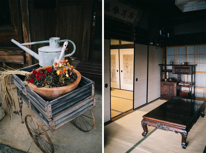 Asuka dans la prefecture de Nara, farm stay