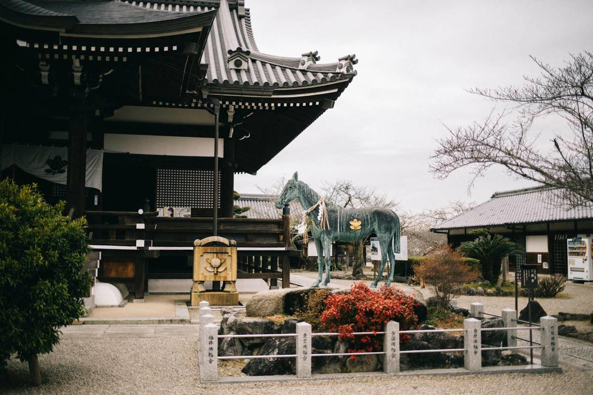 Asuka, temple tachina-dera, Japon, Nara préfecture