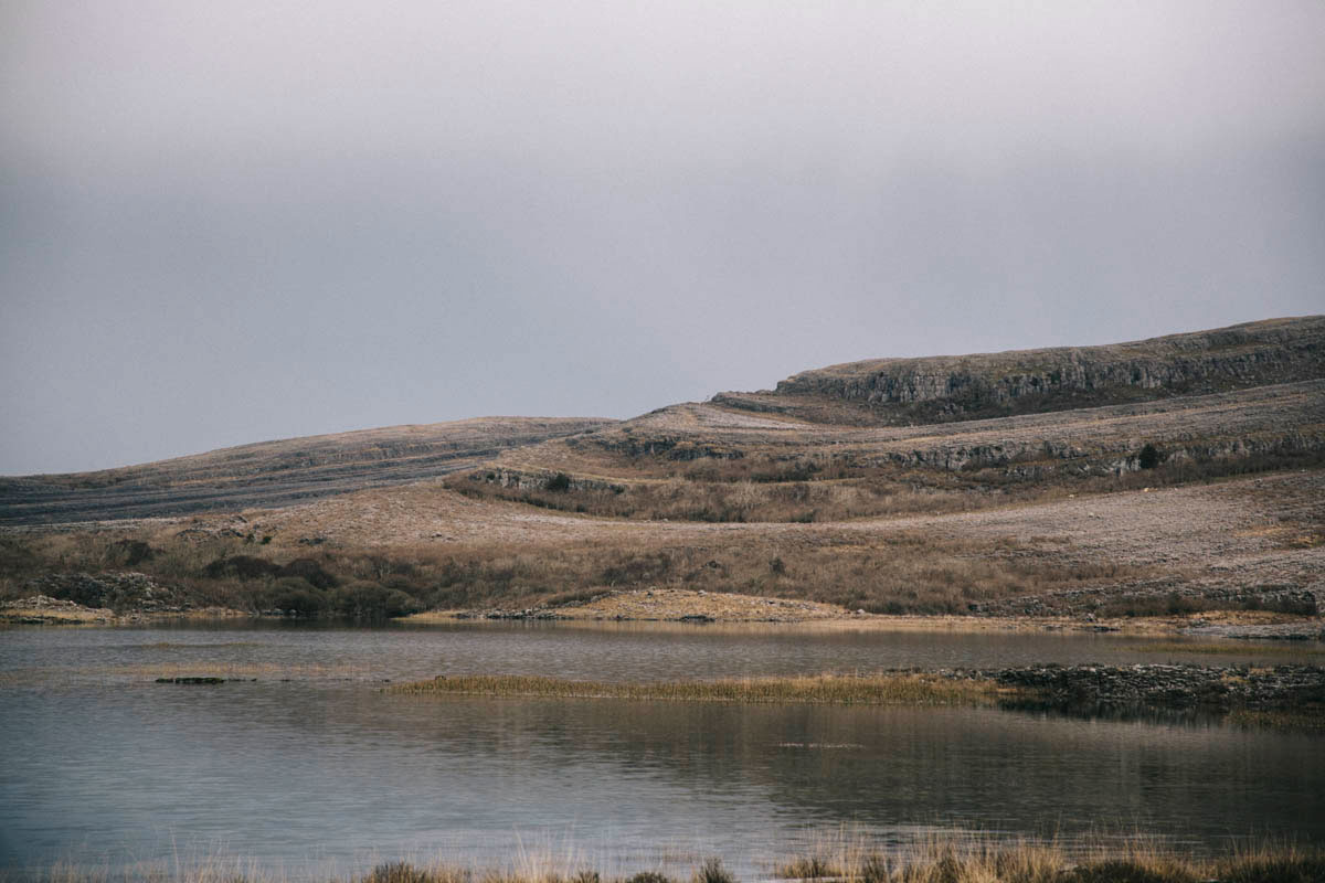 Burren paysage Irlande calcaire Clara