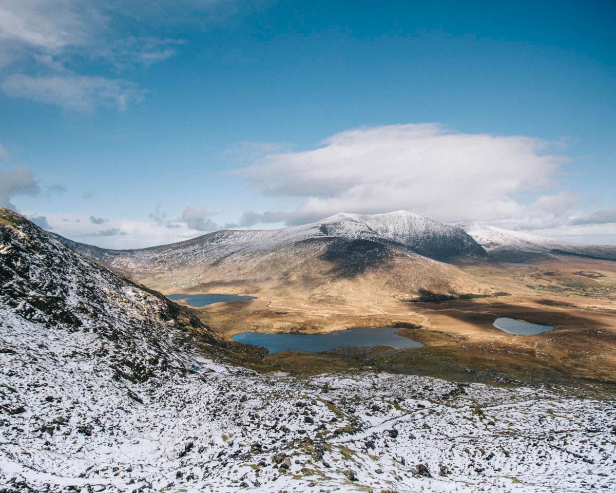 mont Brandon Conor pass beau paysage Irlande