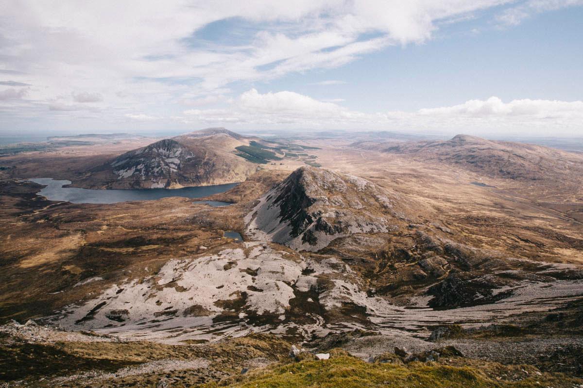 randonnée mont Errigal Donegal