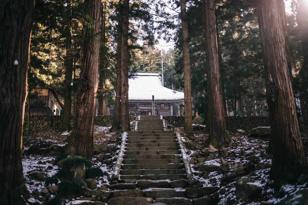 Japon obuse Jokoji temple alpes japonaises