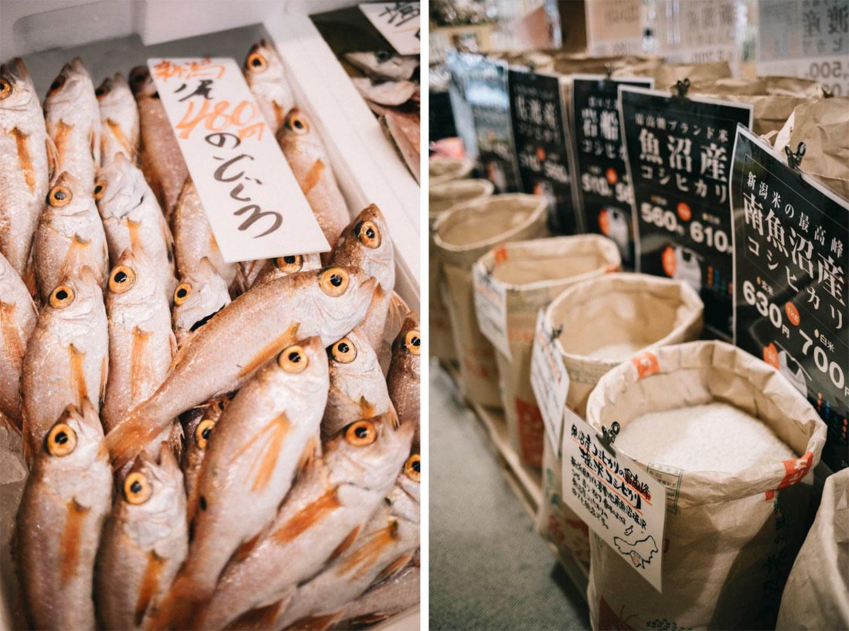 Pia Bandai fish Market niigata visite japon