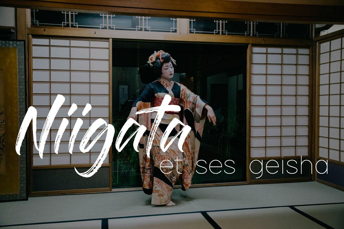 Geisha Niigata japon travel voyage visite ville city guide