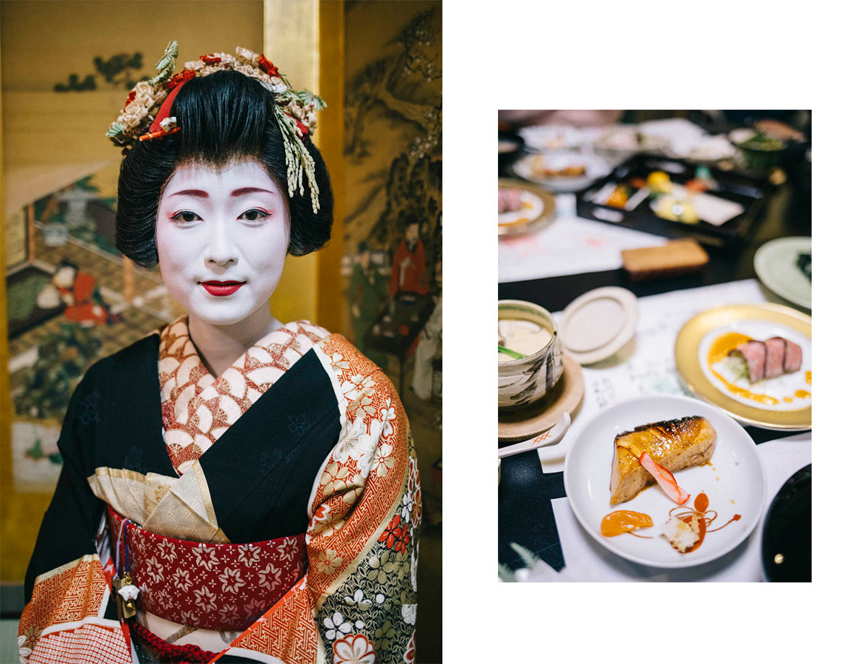 Geisha repas furumachi japon Niigata geigi