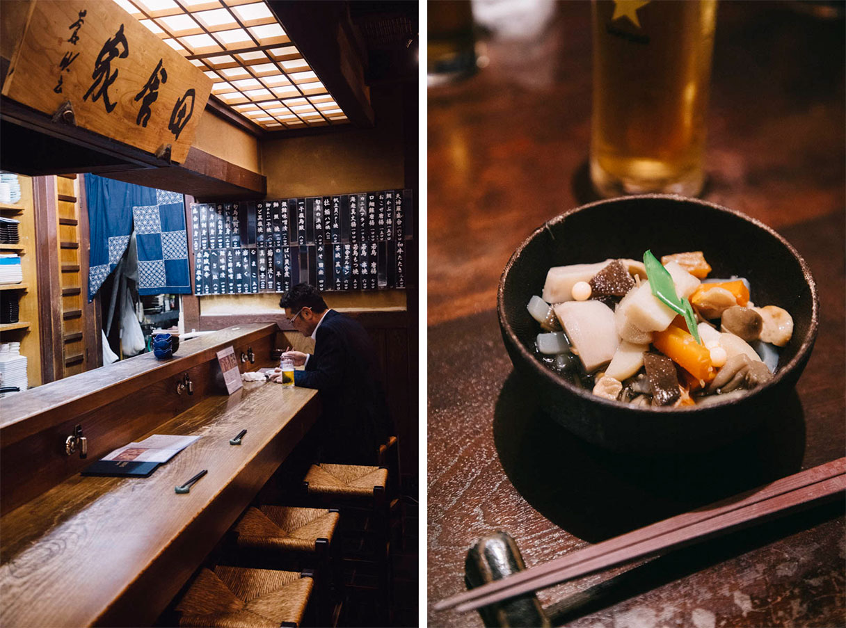 Restaurant du quartier de Furumachi Niigata japon food tour
