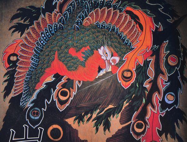 Japon obuse Hokusai alpes japonaises