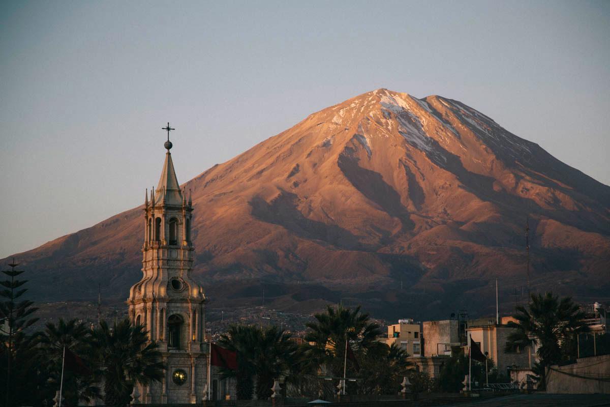 Arequipa visite Pérou itinéraire