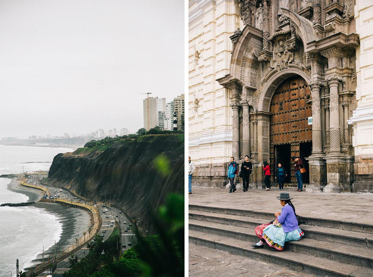 Lima en un jour visite Pérou