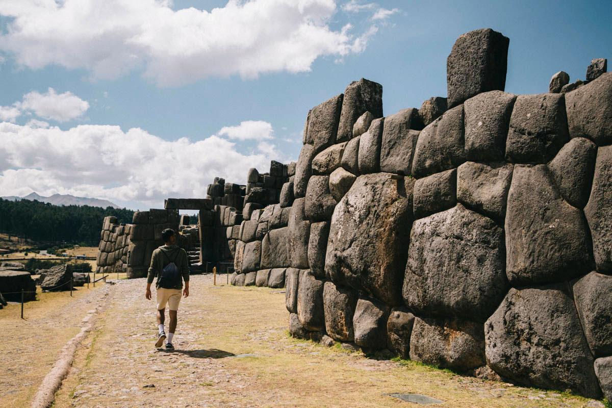 Cusco visites ruines de Sacsayhuaman