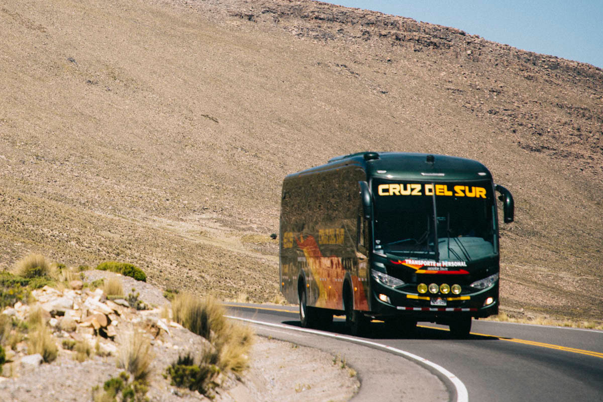 compagnie bus transport Pérou Cruz del Sur