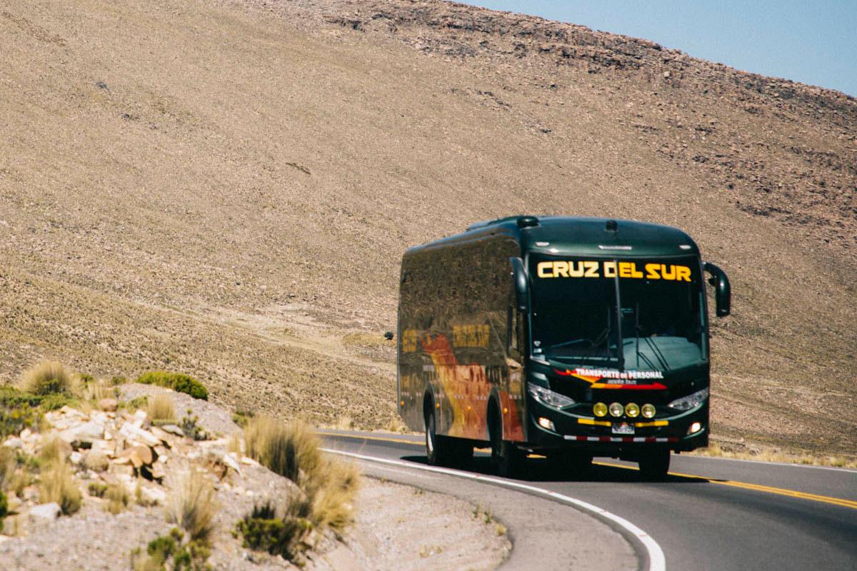 compagnie bus transport Pérou Cruz del Sur