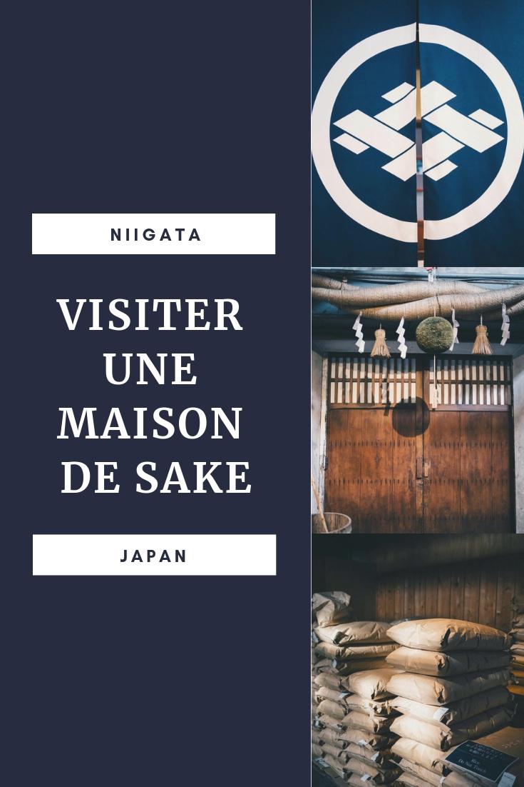 Niigata sake brewery maison saké