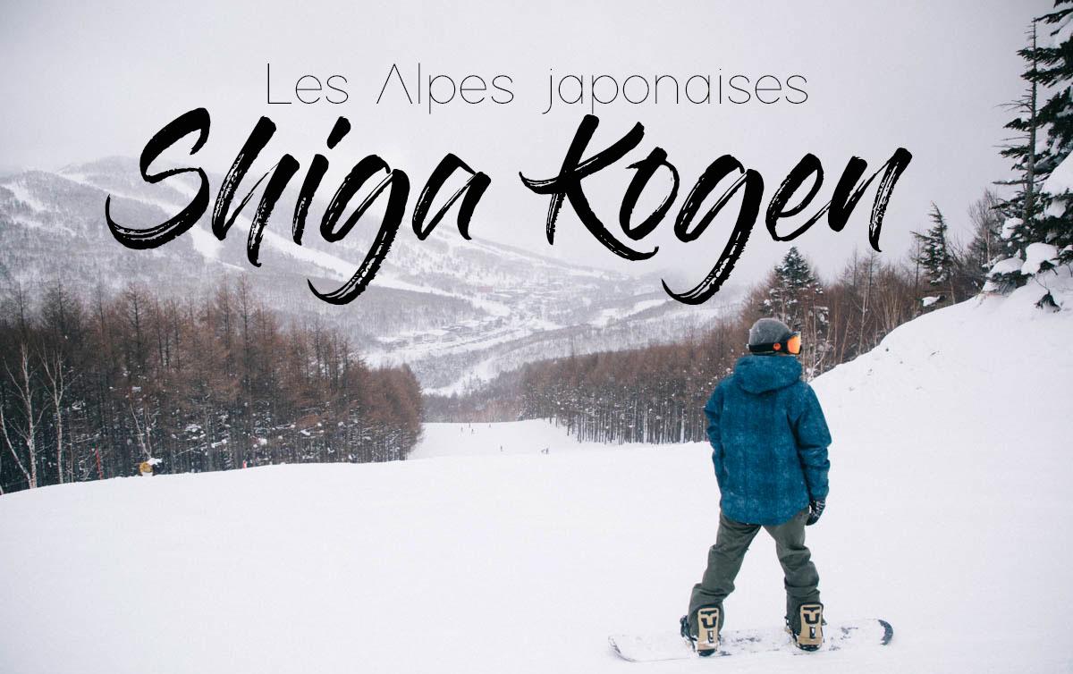 Shiga Kogen les alpes japonaises nagano ski japon
