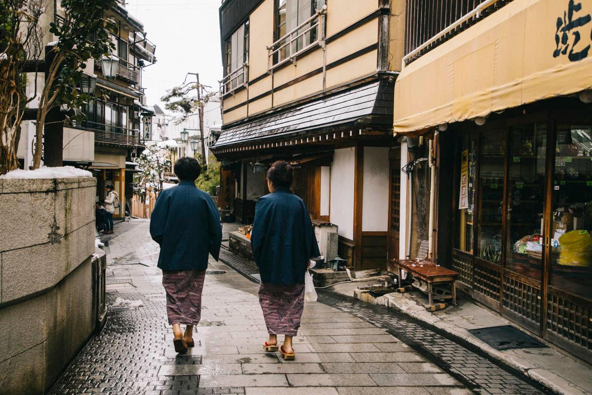 Shibu onsen shiga kogen alpes japonaises