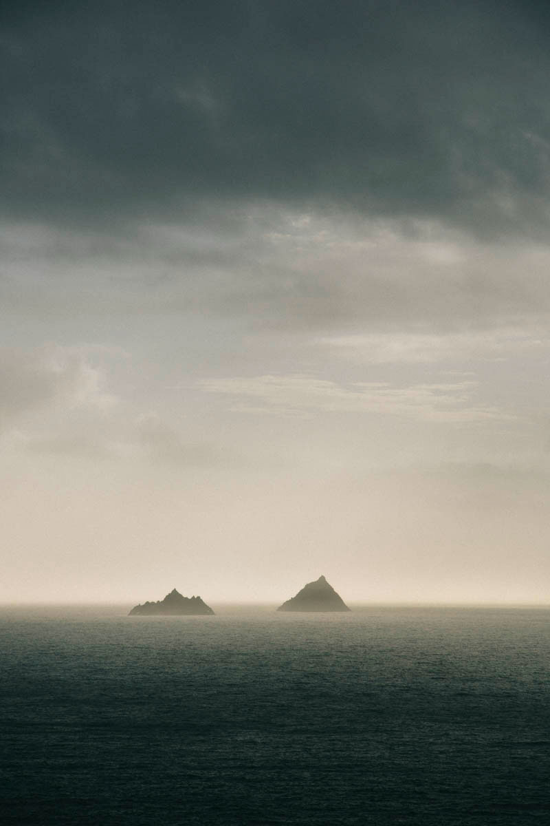 Skellig Michael île Kerry star war paysages Irlande