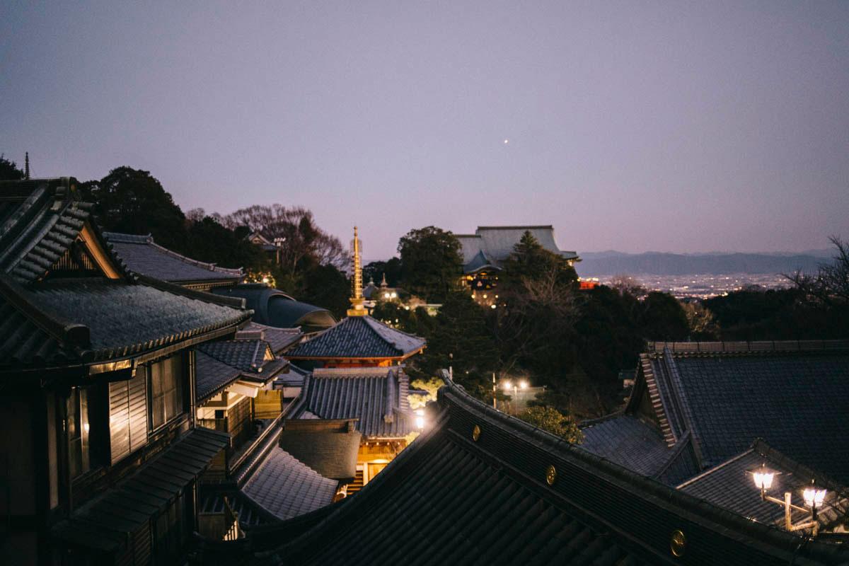temple bouddhiste nara prefecture japon itinéraire