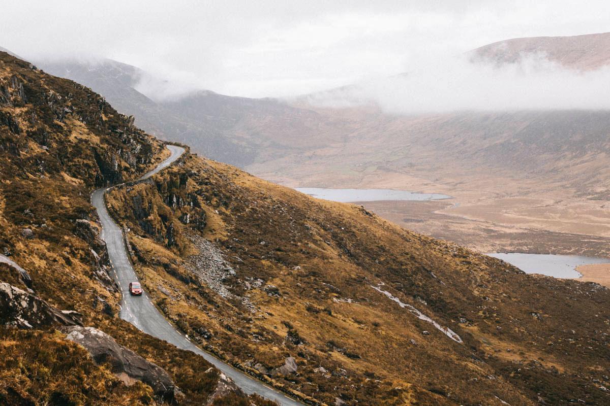 Conor pass route d'Irlande 4 mois sur les routes de l'Irlande