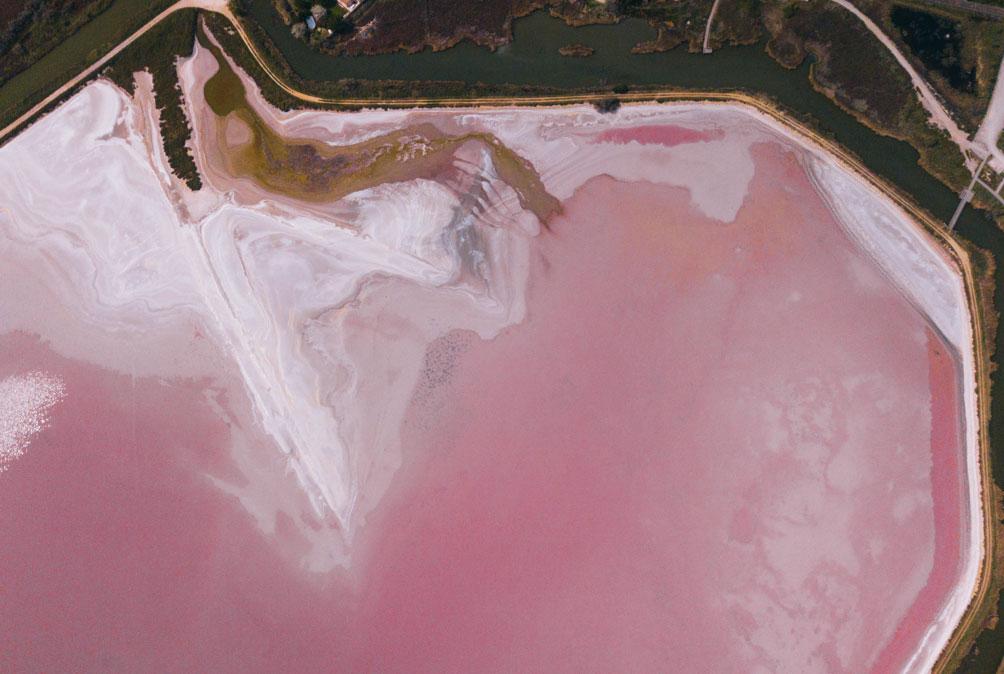 Les Salins d'Aigues-Mortes en Camargue