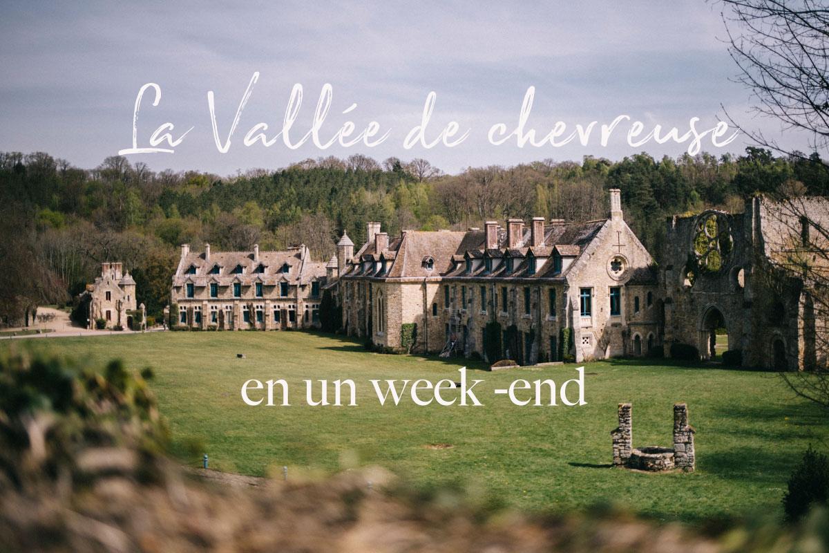 Abbaye des Vaux de Cernay, week end en chevreuse