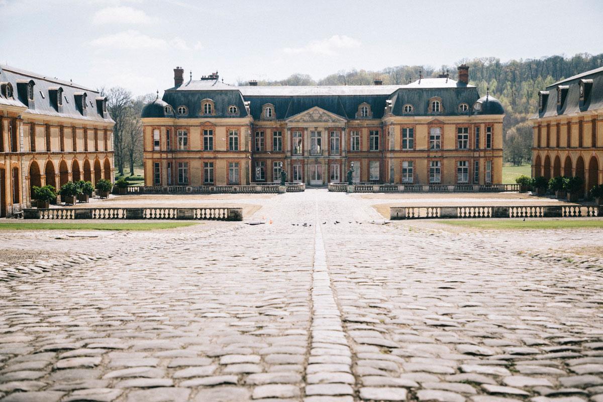 Chateau de Dampierre, dans la vallée de chevreuse pour un week-end